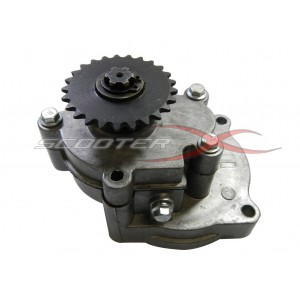 Transmission w/25h 25 tooth sprocket