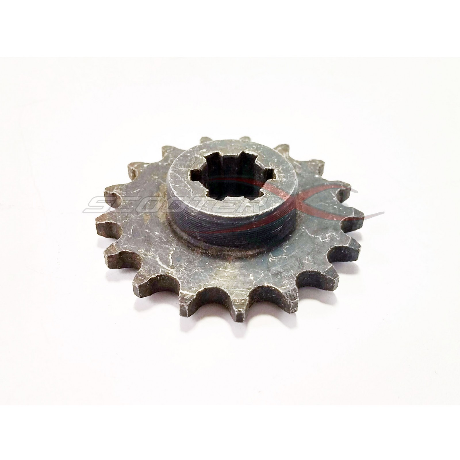 8mm 17 Tooth Transmission Sprocket Gear For Gas Scooter
