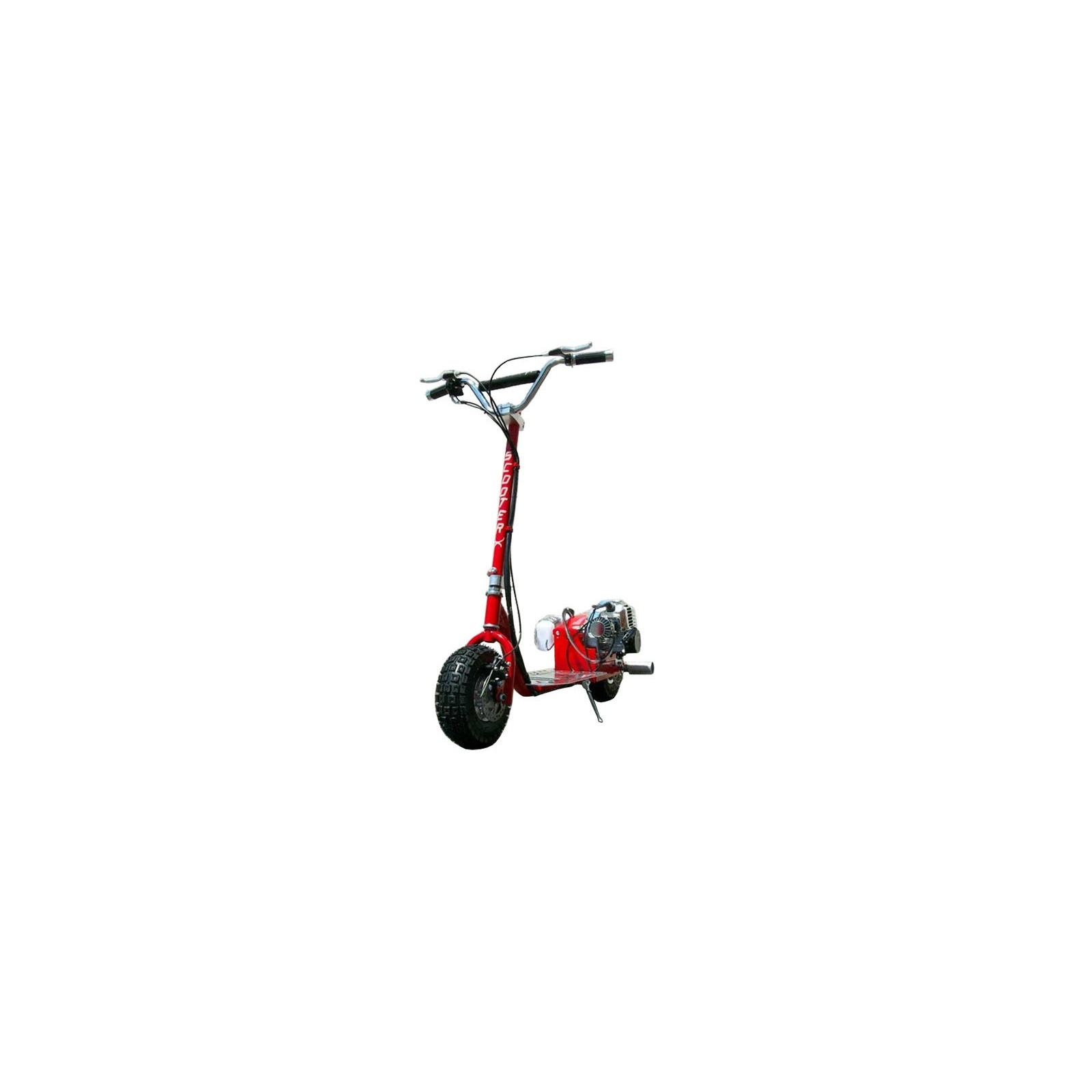 ScooterX Dirt Dog 49cc Gas Powered Scooter with speeds up to