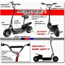 ScooterX 500 watt Electric Dirt Dog
