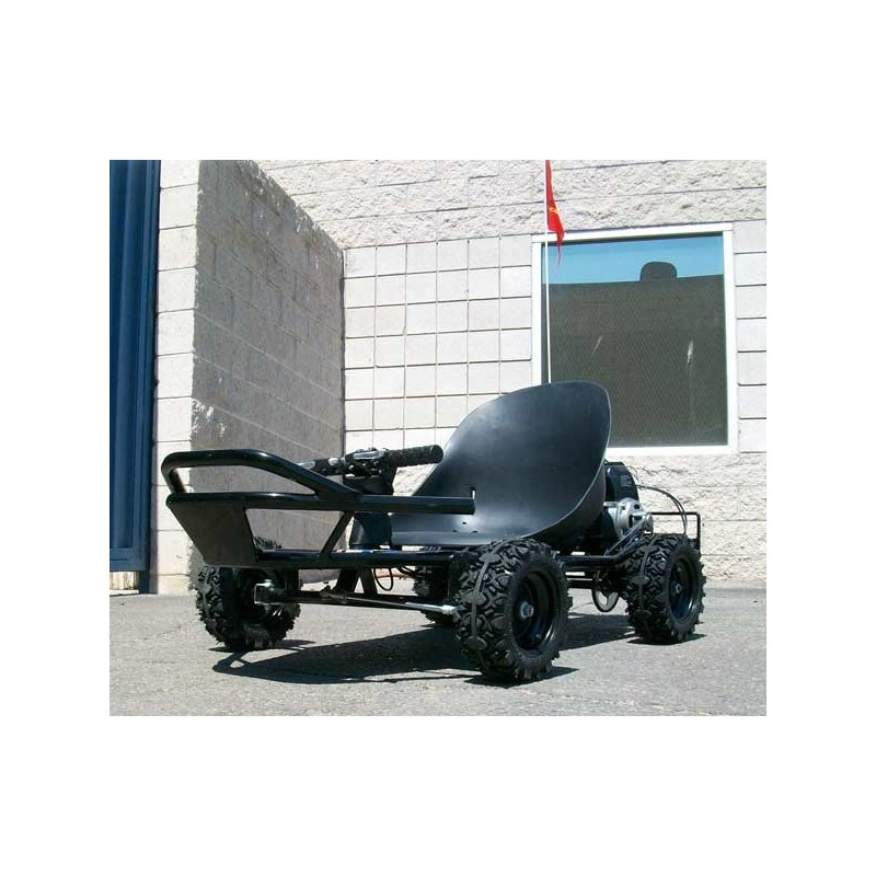 Scooterx baja 49cc off road go kart with 8 inch tires and goes front view front angle of kart sciox Image collections