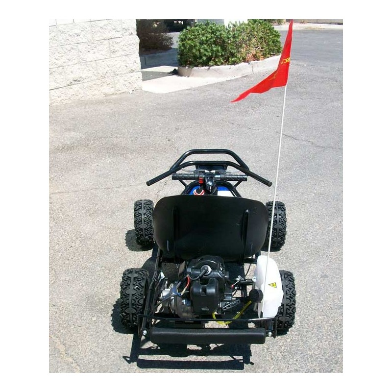 Scooterx baja 49cc off road go kart with 8 inch tires and goes front view front angle of kart rear view sciox Image collections