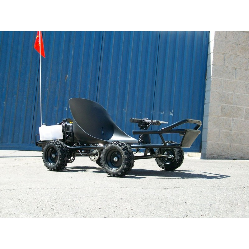 Scooterx baja 49cc off road go kart with 8 inch tires and goes left side angle sciox Image collections
