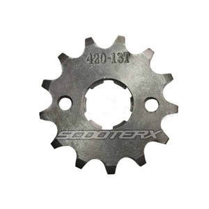 Sprocket 420 13 tooth 17mm