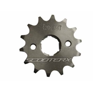 Sprocket 420 14 tooth 20mm