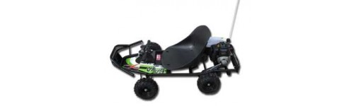 Parts for the ScooterX Baja 49cc 2 stroke Gas Go Kart
