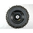 Tire 8x4.00-5 Tire/Rim/Bearing Combo