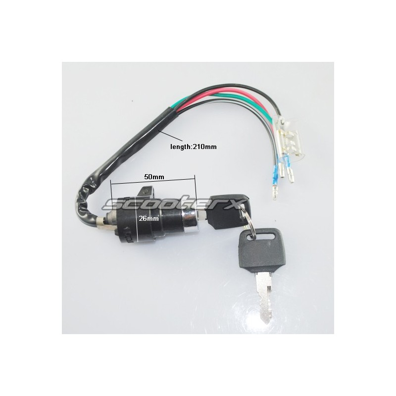 Electric 5 wire Ignition for scooters and go karts