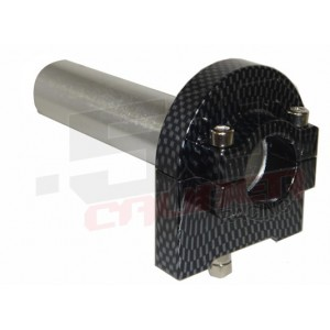 Billet Twist Throttle - Carbon Fiber
