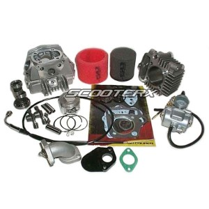 Honda 50 Big Bore Race Head Kit XR70/CRF70/XR50/CRF50  88cc
