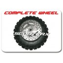 Complete Front Wheel Set