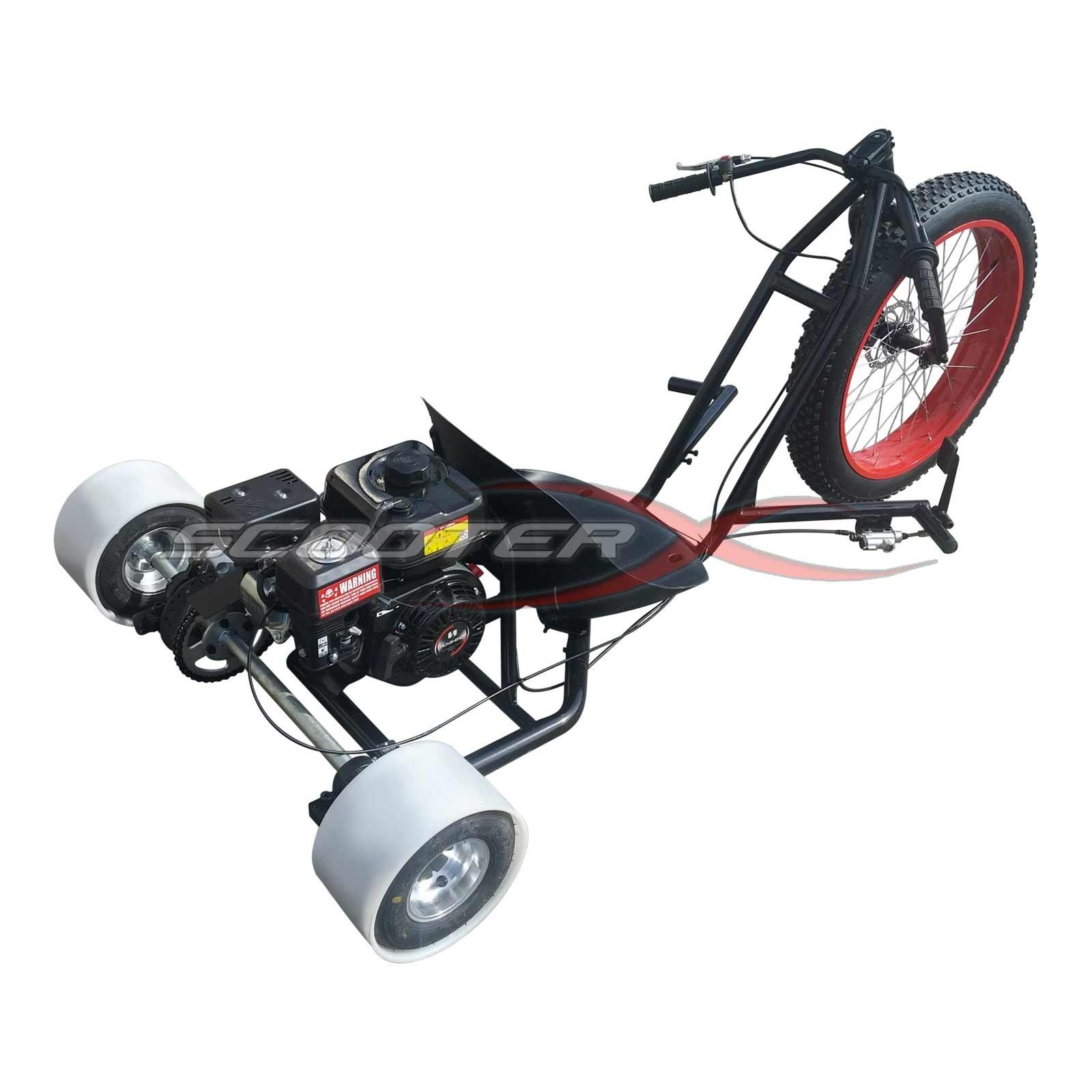 6 5hp Gas Powered Scooterx Drift Trike Aka Big Wheel 3