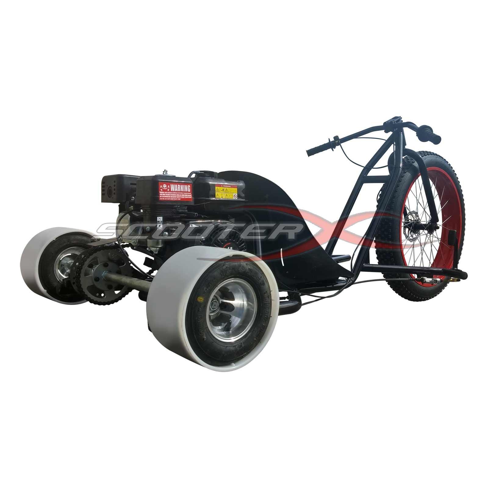 65hp Gas Powered Scooterx Drift Trike Aka Big Wheel 3 Wheeler Ground Force Electric Go Kart Parts Diagram Drifter