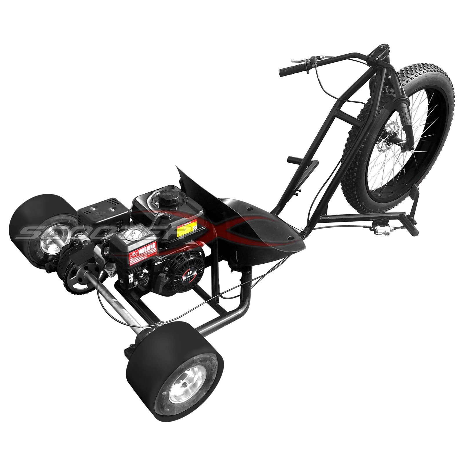 6 5hp Gas Powered Scooterx Drift Trike Aka Big Wheel 3