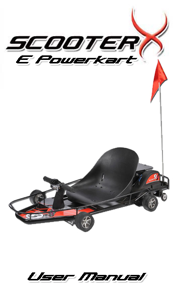 Epowerkart manual cover page