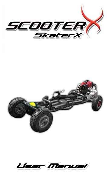 SkaterX Gas Skateboard Manual and assembly instructions